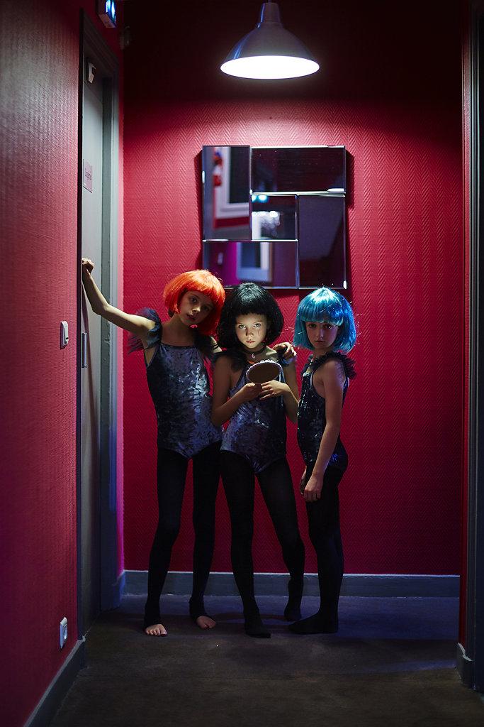 Pinky Hotel Paris - Kids Fashion Photography © Ahmed Bahhodh Editorial