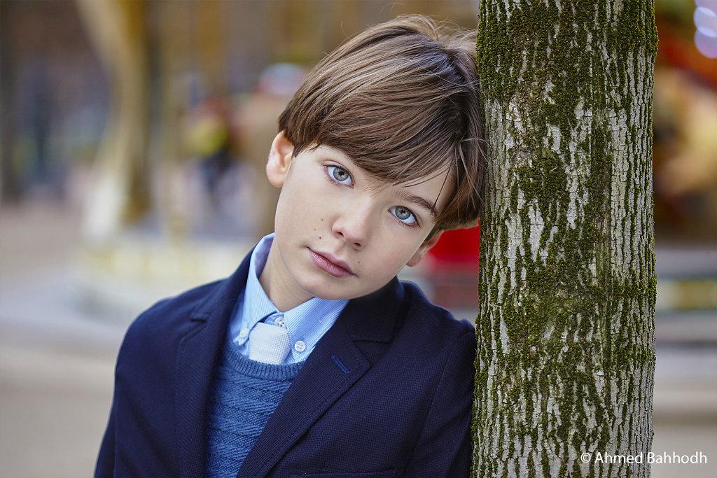 Paris Kids Fashion Photography Editorial © Ahmed Bahhodh