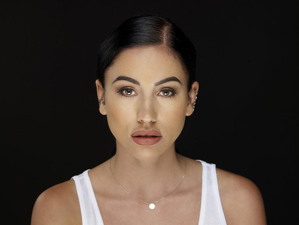 Photographe comédien  Gaelle Garcia Diaz beauty shoot ahmed bahhodh photographe bruxelles