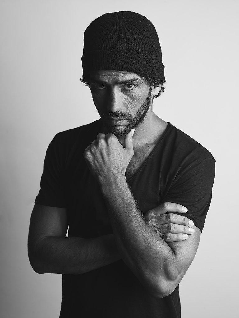 Salim Kechiouche Photo © Ahmed BahhodhPhotographe comédien